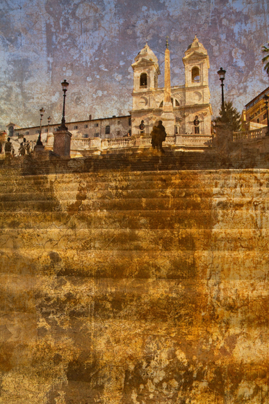 Stairway to Heaven (Piazza di Spagna) ref# 1634_fresco