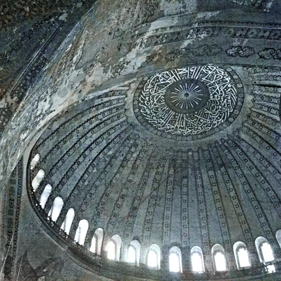 Wonder of the World (Hagia Sophia) Istanbul ref # 6890_blue_fresco